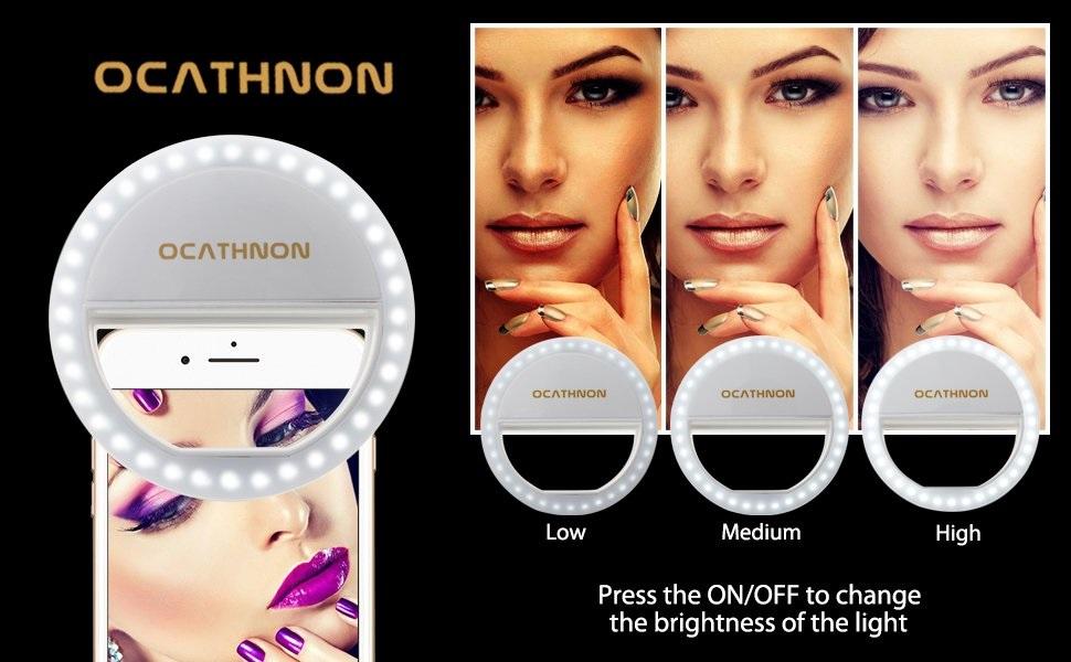 ocathnon phone ring light review