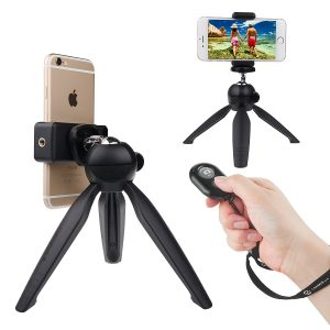 best selfie tripod with remote