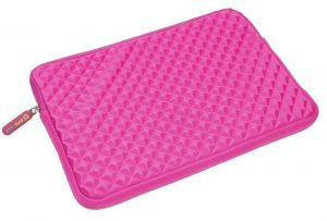 evecase pink laptop sleeve