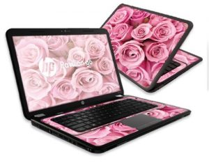 mightyskins pink laptop decals