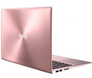 pink asus zenbook laptop