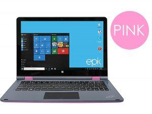pink epik laptop