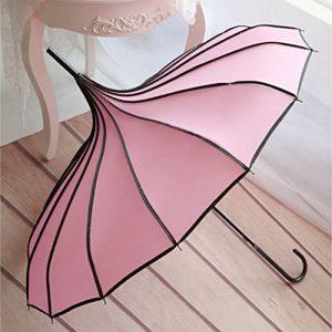cheap pink parasol gift
