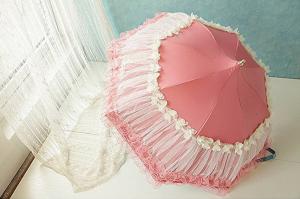 honeystore pink pagoda parasol gift