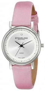 lady castorra diamond watch pink leather