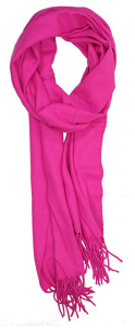 pink cashmere scarf gift