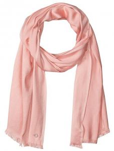 pink satin pashmina scarf