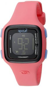 rip curl candy pink watch