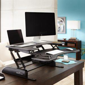 varidesk standing desk converter review