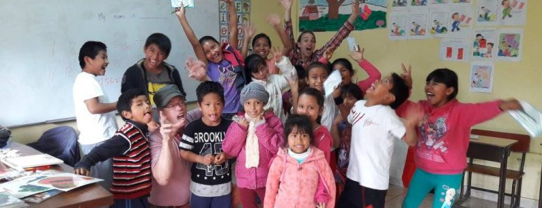 volunteering experience in peru