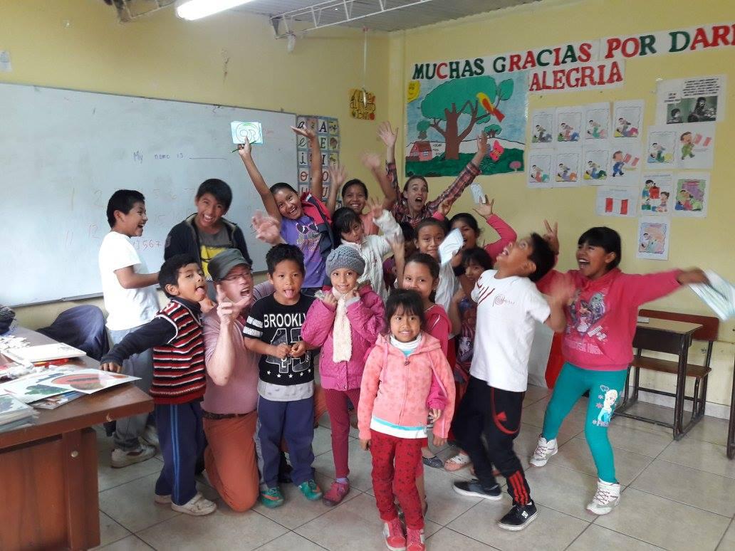 volunteering experience in peru