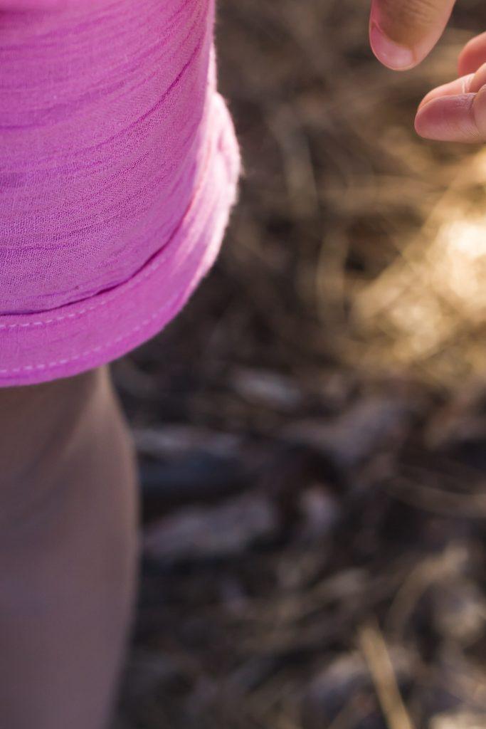pink DIY children's clothes