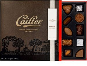 cailler chocolate selection