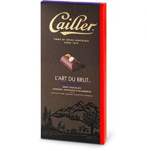 cailler dark chocolate with nuts