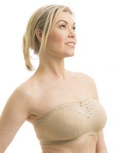 carole martine strapless comfort bra