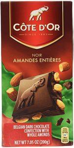 cote dor dark chocolate almonds