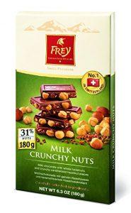 frey sweetworks crunchy nut bar
