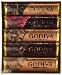 godiva chocolate bar set