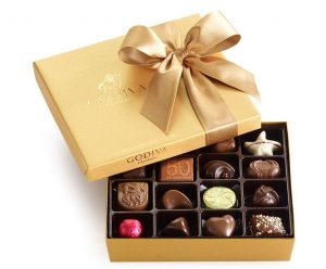 godiva chocolatier ballotin