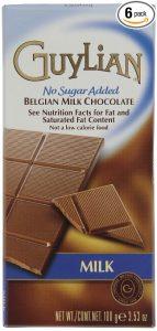 guylian milk chocolate no added sugar