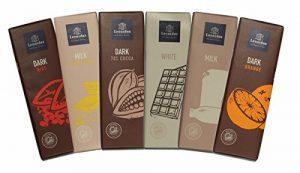 leonidas chocolate bars variety