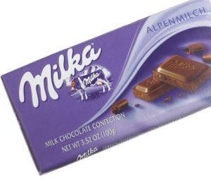 milka alpine milk chocolate