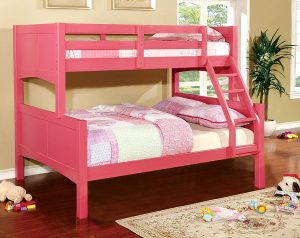 pink bunkbeds