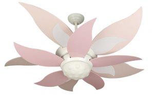 pink ceiling fan