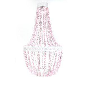 pink ceiling lights