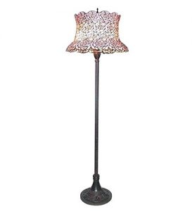 a pink floor lamp can add a splash of pink to any pink bedroom without completely the room whether itu0027s a pink rose motif like this tiffany