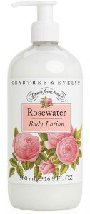 crabtree evelyn rosewater body lotion