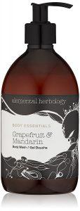 elemental herbology grapefruit mandarin body wash