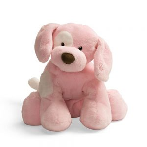 gund dog spunky plush toy