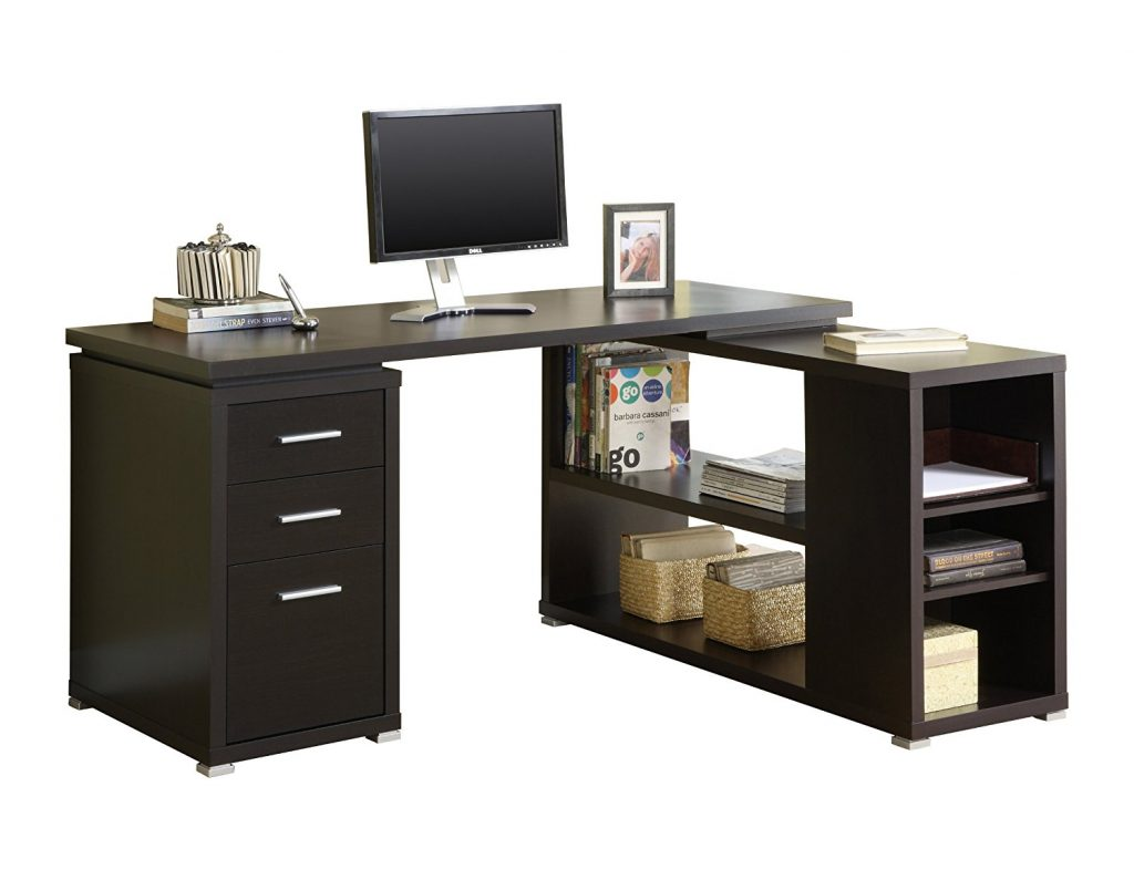 monarch specialties hollow core computer desk