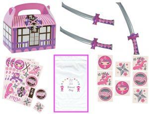 Pink party favor bundle