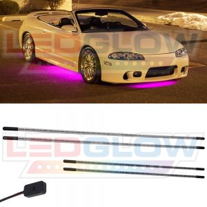 Pink underbody lighting kit