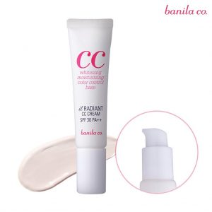 banila radiant cc cream