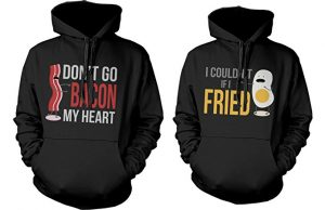 Funny couples hoodie set