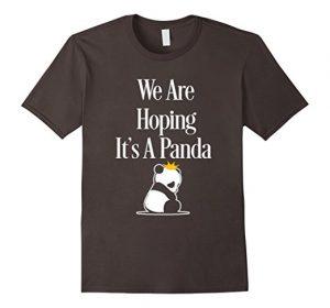 Panda funny maternity shirt