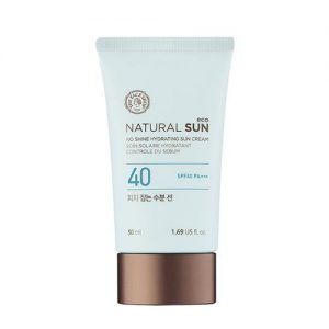 The face shop natural sun eco sebum control moisture sun