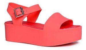 J. Adams platform sandal