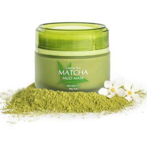 Best green tea matcha facial mud mask