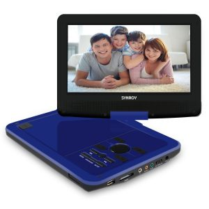 SYNAGY portable DVD player with screen portable cd player