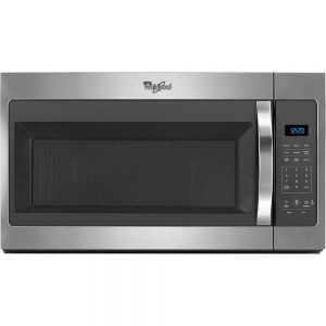 Whirlpool stainless over-the-range microwave